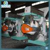 moulin en bois de boulette de sciure de machine de boulette de fruit de la paume 1-2t