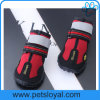 Chaussures résistantes chaudes de crabot d'animal familier de l'eau de vente d'Amazone avec le Velcro r3fléchissant