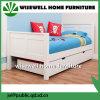 Кровать гостя твердого ребенка древесины сосенки с Trundle Underbed