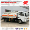 Carro del tanque barato de almacenaje de la gasolina del petróleo de las existencias del precio de China