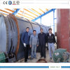 Tire Waste Recycling를 위한 12 톤 Pyrolysis Machine