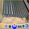 Hot-DIP電流を通された波形の鋼板