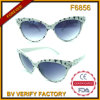 Cat Eye Sunglasses Wholesale способа в Китае (F6856)