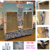 Bak van de Opslag van het Ijs van het glas de Deur In zakken gedane voor Gebruik Indoor&Outdoor