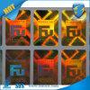 Goldener Zoll bilden Papier des Hologramm-Stickers/Anti-Counterfeit