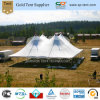 Grade comercial White Canopy Tent 18X18m com High Duty Top com Excellent Protection From Rain, Wind e Cold