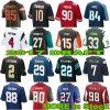 Vestiti degli abiti sportivi della camicia della gioventù delle donne dell'uomo della Jersey della cambiale di football americano con il nome ed il numero