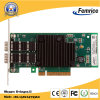 10g Black Little Heatsink Fiber Optic Network LAN Card