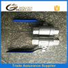 Válvula de esfera de moldação da linha do PC do aço inoxidável 2