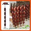 Corrimão de madeira Dd007 do aço inoxidável--Cor do ouro de Rosa