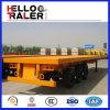 中国の新しい三車軸トレーラーの輸送容器