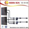 6mm2 TUV aprobado estañó los cables solares del picovoltio del alambre de cobre