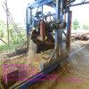 Machine en bois de scierie de découpage de logarithme naturel de cornière de haute énergie