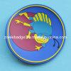Coaster do PVC da forma redonda 2D com logotipo feito sob encomenda