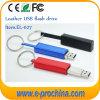 Neue lederne Speicher-Platte Pendrive USB-grelles Feder-Laufwerk (EL027)