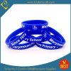 Wristband. caldo su ordinazione del silicone di stampa di marchio di vendita