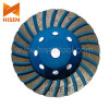 Diamante Turbo Cup Wheel para Concrete