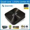 Nouveaux produits chauds pour la boîte androïde adaptée aux besoins du client par boîte bon marché du dessus TV TV de l'ensemble 2015 avec la boîte 14.1 de l'Internet TV d'Amlogics802 et de Kodi