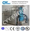 Compresor de aire sin aceite del oxígeno del pistón de la lubricación de cinco etapas