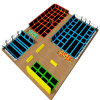 Tremplin populaire de bâtis de qualité pour le stationnement d'intérieur