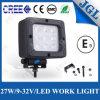 Alimentador de la lámpara 27W E-MARK/Ce/RoHS de la luz del trabajo del coche LED