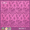 Style novello Nylon Cotton Tricot Lace Fabric per Dress