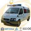 2WD LHD Ford Chassis Ambulance Car con Stretcher