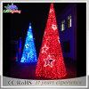 Luz ao ar livre/interna da decoração da árvore de Natal do PVC do diodo emissor de luz melhor