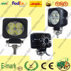 12W LED Work Light, 12V C.C. LED Work Light, 6000k LED Work Light para Trucks.
