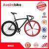 セリウムとの販売の販売のための卸し売り高品質700cアルミニウムか鋼鉄単一の速度の道のバイク固定ギヤバイクの自転車は税を解放する