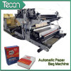 Bolsas de papel pegadas automáticas de la válvula que hacen la maquinaria