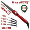 Ferro de ondulação profissional quente do cabelo do Sell M602b Confortable