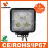 Offroad SUV ATV 4X4 4WD Truck Bus LED Headlight Driving Light 40W Square Waterproof Car LED Working Light Fog Light