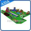 Sosta gonfiabile dell'acqua, parco di divertimenti gonfiabile, giochi gonfiabili dell'acqua di progetto