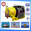 100kn Pull Force를 가진 10 톤 Air Winch
