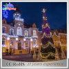 Het openlucht Licht van de Decoratie van de Vakantie van Treeled van Kerstmis van het Staal