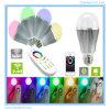 Lampada astuta di alluminio magica della sfera di WiFi LED dell'indicatore luminoso di natale del LED