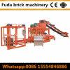 Máquina automática del bloque de cemento Qt4-25 con la paleta