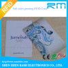Cartão esperto da identificação da microplaqueta do PVC RFID do plástico para o controle de acesso