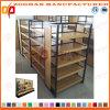 Prateleira de madeira personalizada nova do indicador do varejo do supermercado (Zhs257)