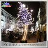 Luz ao ar livre da decoração do Natal do diodo emissor de luz feriado atrativo da paisagem do grande