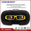 Gran inmersión Adajustable PMMA con los vidrios de la realidad virtual del teléfono de la caja de las lentes 3D Vr de la resina de HD, precio al por mayor Vr de la alta calidad de 3D Vr para el teléfono de Moble usar