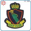 Kundenspezifische Handstickerei-Abzeichen des Golf-100%