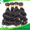 Человеческие волосы волос девственницы оптовой цены индийские естественные