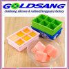 Cassetto del cubo di ghiaccio del silicone del cassetto del cubo di ghiaccio