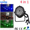 Wasserdichtes Outdoor LED Full Color 18PCS*10W PAR Light