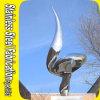 조각품에 있는 큰 크기 스테인리스 옥외 추상 예술 조각품