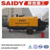 Hbt80-11rsd Pompende Machine van de Aanhangwagen van de Macht van de Dieselmotor de Concrete