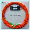 coupleur multi de fibre de mode de 1*2 850nm avec le connecteur de fa