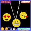 Collana del pendente di Emoji della lega dei monili dello smalto di modo